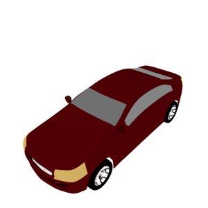 car blendation 3D model