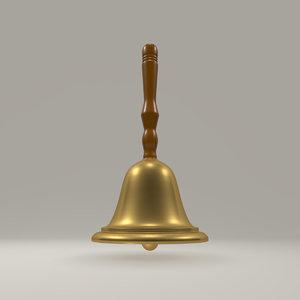 3D handbell bell model