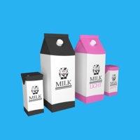 3D model milks
