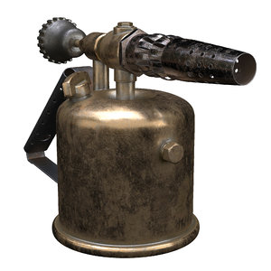 3D blowtorch gas gasolin