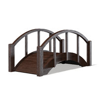3D small bridge dark model
