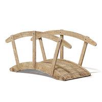 small bridge wood model