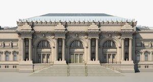 3D realistic metropolitan museum art