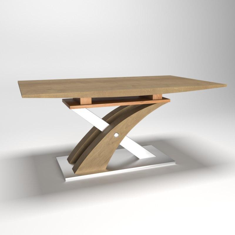 zefir table 3D model