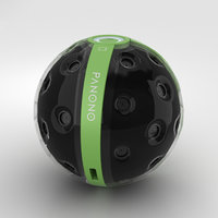 panono camera 3D model