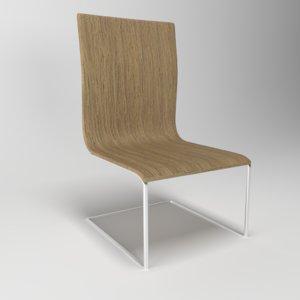 chair zefir simple 3D model