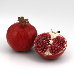 3D model pomegranate