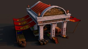 3D model rome marketplace