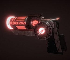 3D gun substance model