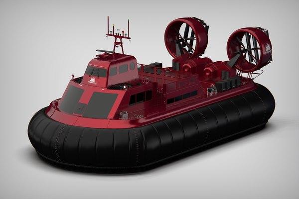 3D msb hovercraft
