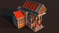 rome town hall 3D