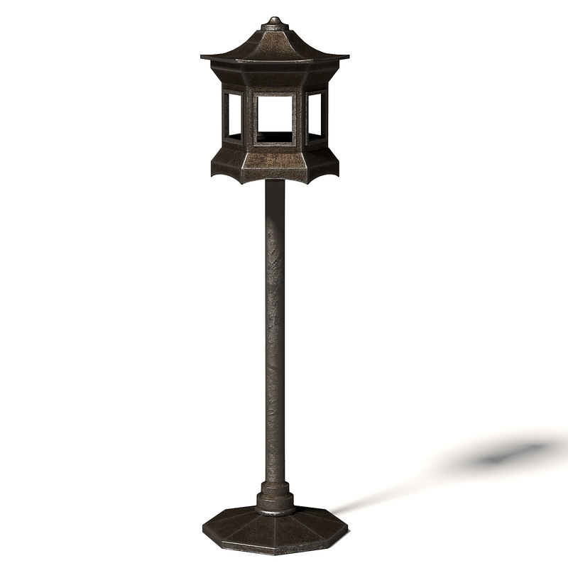 metal bird feeder 3D model