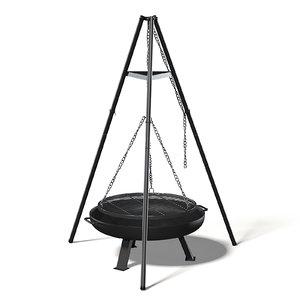 tripod barbecue model