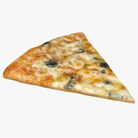 pizza slice 3D model