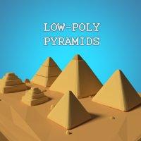 3D pyramids model