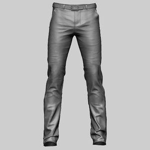 3D model pants clothes
