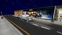 traffic way road car 3D