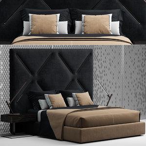 3D bed gogolov artem model