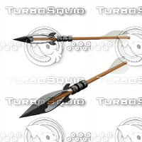 3D arrow crossbow model