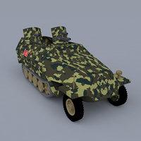 3D sd kfz 251-16 ausf model