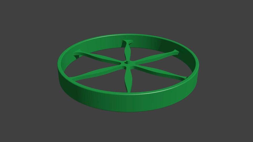 wheel bidon 3D model