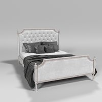 French vintage bed