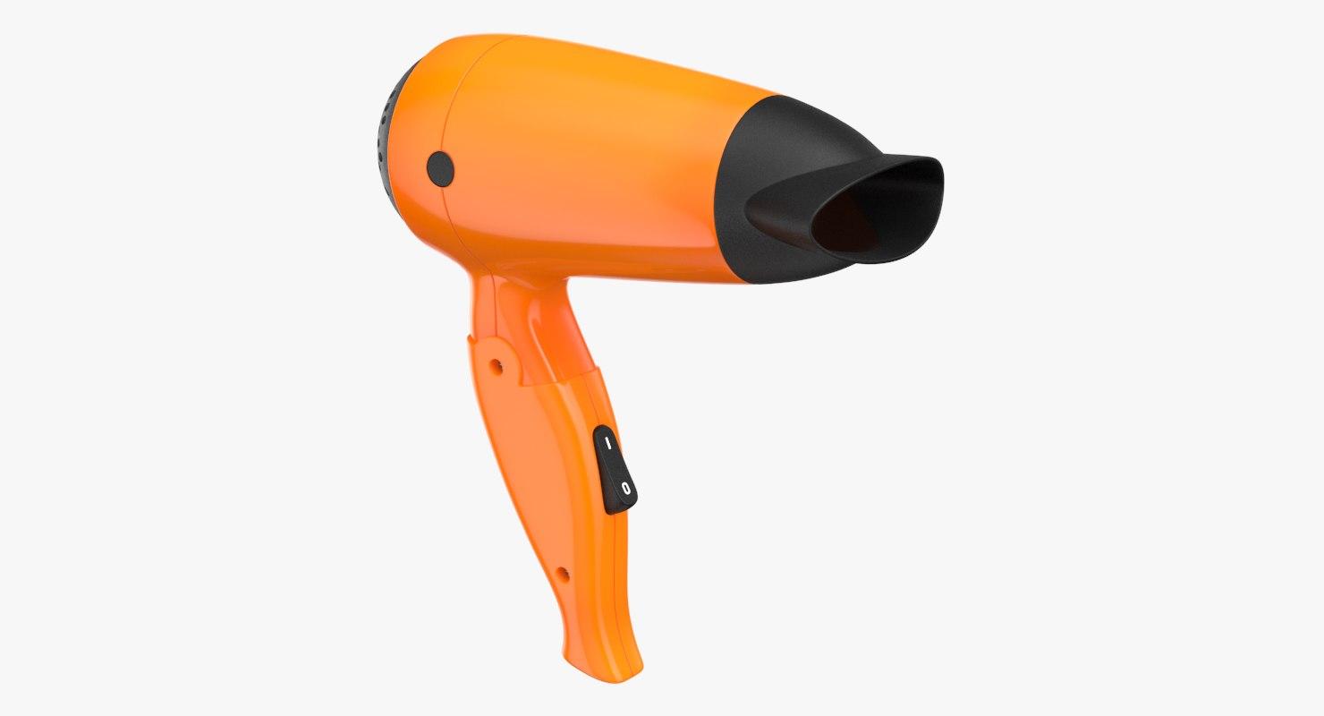 hair dryer orange model