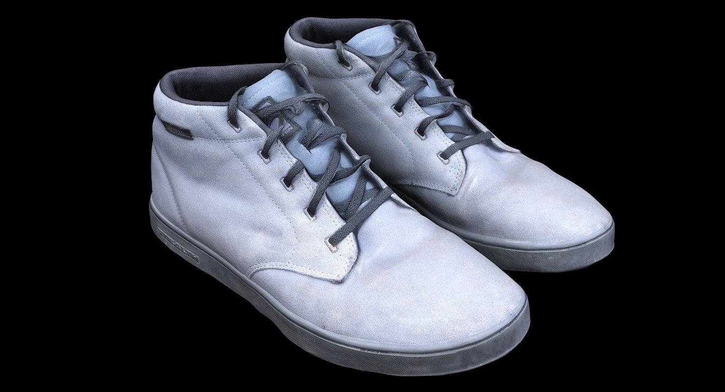 scan fiveten dirtbag shoes 3D model