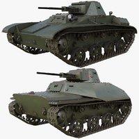 3D model tank 004 t