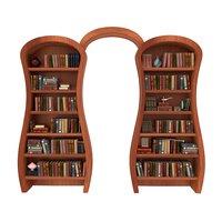 Ottoman Bookshelf