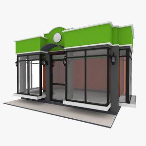 small pavilion 3D model