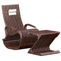 3D rocking armchair model