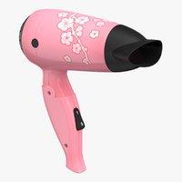 hair dryer pink model