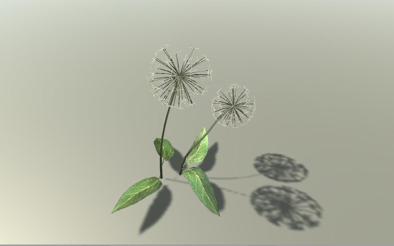 obj dandelion