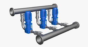 3D electric pumping water