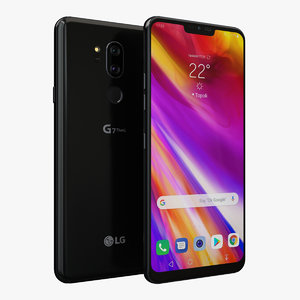 3D lg g7 thinq new model