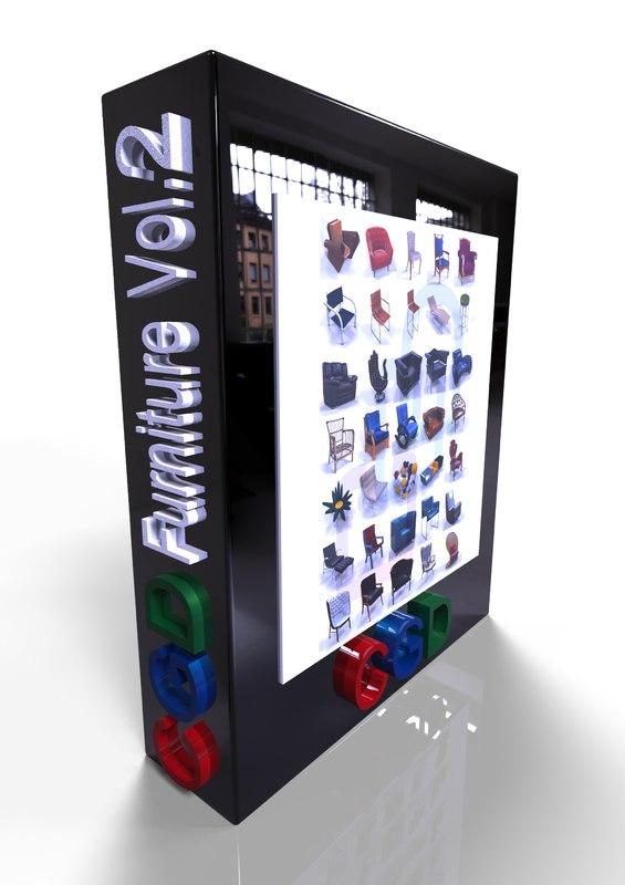 cgd furniture 3D model
