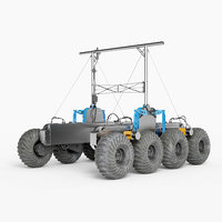 rover planet 3D model