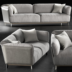 3D model ditre italia kailua sofa
