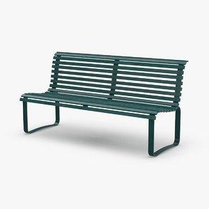 3D model city-bench-02---clean