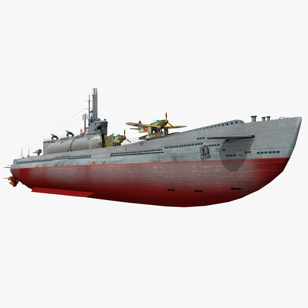 i-400 japanese navy submarine model