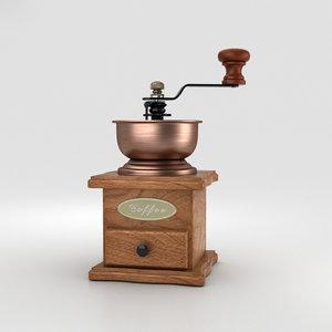 rosewood grinder coffee 3D