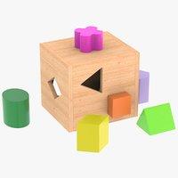 Wooden Childrens Toy Box