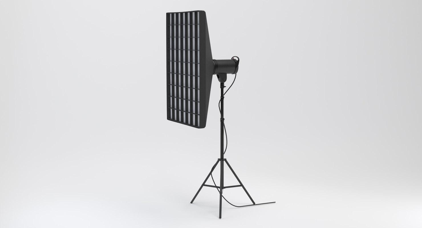 strobe studio softbox head model