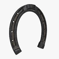 3D model horseshoe pbr