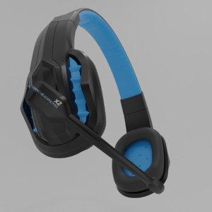 gaming headphone 3D