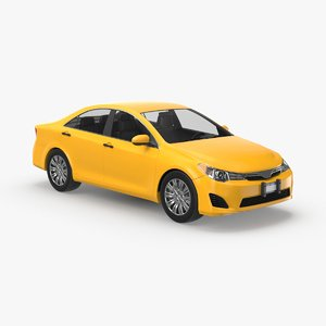 3D modern-new-york-city-taxi-03---clear model