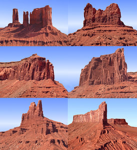3D monument valley pack 6