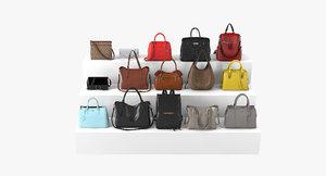 3D women bags