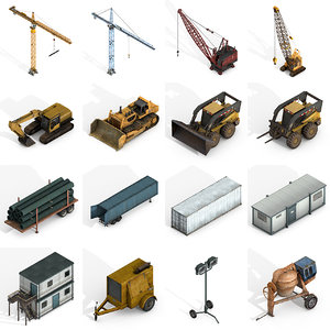 3D industrial vehicles pack